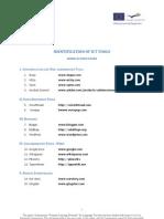 aPLaNet Identification of ICT Tools