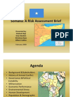 Somalia Risk Assessment Brief