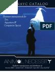 Animal Necessity Catalog 2012