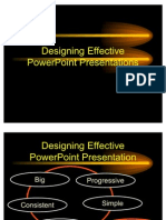 Simplified Power Point Presentation Guidelines