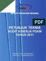 Juknis Kin Pdam 2011
