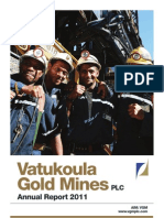 Vatukoula Gold Mines - Annual Report 2011