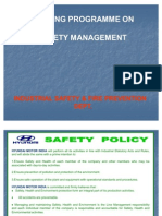 1. Accident Prevention