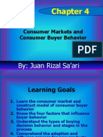 Chap 04 _Consumer Market and Consumer Buyer Behavior