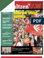 136 iraultzen (aldizkari sindikala, revista sindical, journal syndical)