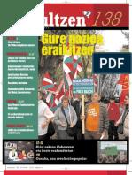 138 iraultzen (aldizkari sindikala, revista sindical, journal syndical)