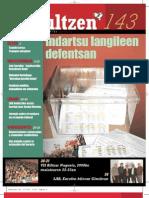 143 iraultzen (aldizkari sindikala, revista sindical, journal syndical)