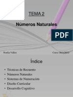 Tema 2 - Números Naturales p
