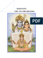 Ramayana Story - Picture Form