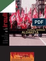 153 iraultzen (aldizkari sindikala, revista sindical, journal syndical)