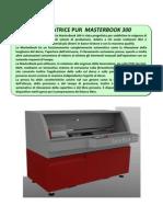 MasterBook300 Scheda Tecnica