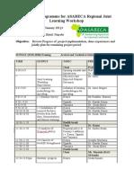 Programme - Regional Workshop