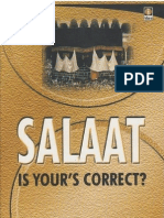 Salaat - Is Your's Correct By Shaykh Fazlur Rahman Azmi