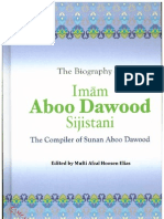 The Biography of Imam Abu Dawood Edited by Mufti Afzal Hoosen Elias
