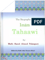 The Biography of Imam Tahaawi by Mufti Saeed Ahmed Palanpuri
