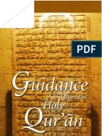 Guidance From the Noble Quraan Edited by Mufti Afzal Hoosen Elias