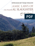 The Islamic Laws of Animal Slaughter by Shaykh Mufti Taqi Usmani