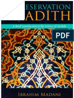 The Preservation of Hadith a Brief Introduction to the Science of Hadith by Ibrahim Madani