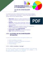 Las etapas de una Investigacion