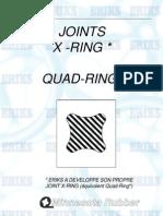 ERIKS - Documentation Technique - Joints Quad-ring