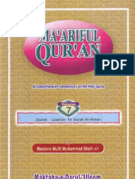 Maariful Quran -English- Mufti Muhammad Shafi (r.a) Vol 7