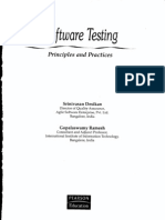 Software Testing One