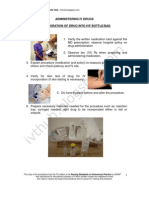 Administering IV Drugs