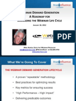 Managing the Webinar Life Cycle From Start to Finish