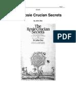 Rosicrucian Secrets - John Dee