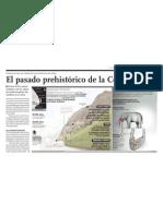 La Prehistoria de la Costa Verde en ciudad de Lima, Perú.