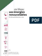 Livre Blanc des énergies renouvelables - SER