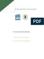 Plan Mejoras Euit Industrial