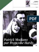 """""""Le Figaro littéraire"""" recense le Cahier de L'Herne Modiano"""