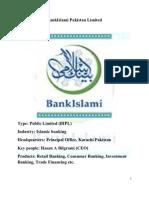 Brand Management (BRAND AUDIT) BankIslami
