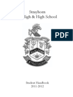 SHS Handbook Revised 8.1