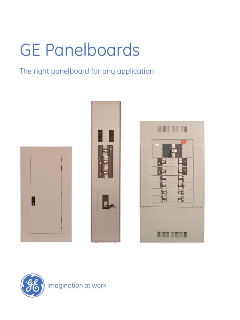 Ge A Series Panels Wire Engineering General Electric Circuit Breaker Ul489 D 3p 5a 240vac