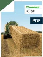 Big Pack Baler Leaflet