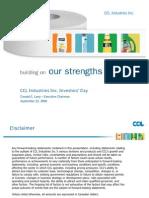 2008 Ccl Investors' Day Presentation (Lite)