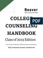 Handbook Class 2013