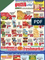 Friedman's Freshmarkets - Weekly Ad - January 19 - 25, 2012
