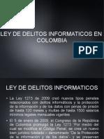 Ley de Delitos cos en Colombia