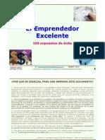 100 Supuestos de Exito Para El Emprendedor Excelente