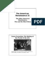 The American Renaissance II
