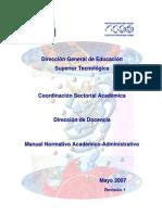 Manual Normativo Academico-Administrativo