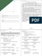 ЕГЭ-2012. Химия. Тренировочная работа 1 (вар.1-2) 26_10_2011г. (с ответами)