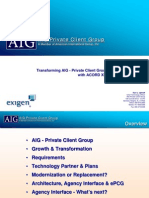 AIG WINS Insurance System