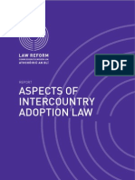 Aspects of Inter Country Adoption Law (Ireland)
