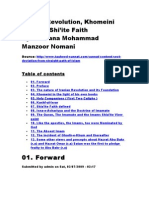 Iranian Revolution Khomeini and The Shi'ite Faith By Maulana Mohammad Manzoor Nomani (R.A)