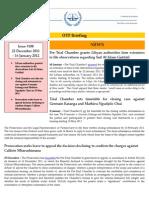 OTP Briefing 22 December 2011 - 16 January 2012 #108