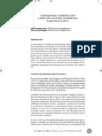 Fernández, P. y Lacasa, E. Criterios conserv. y rest. patrimonio paleontológico. 2009